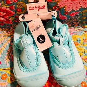 Turquoise Sneakers Shoes Cat & Jack 9/10 - 11/12